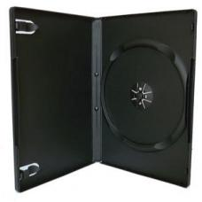 Black Single DVD Cases (14mm) 100pk