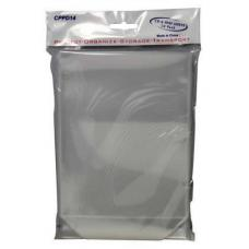 DVD Bag Sleeves with Flap (0.1mm) 50pk