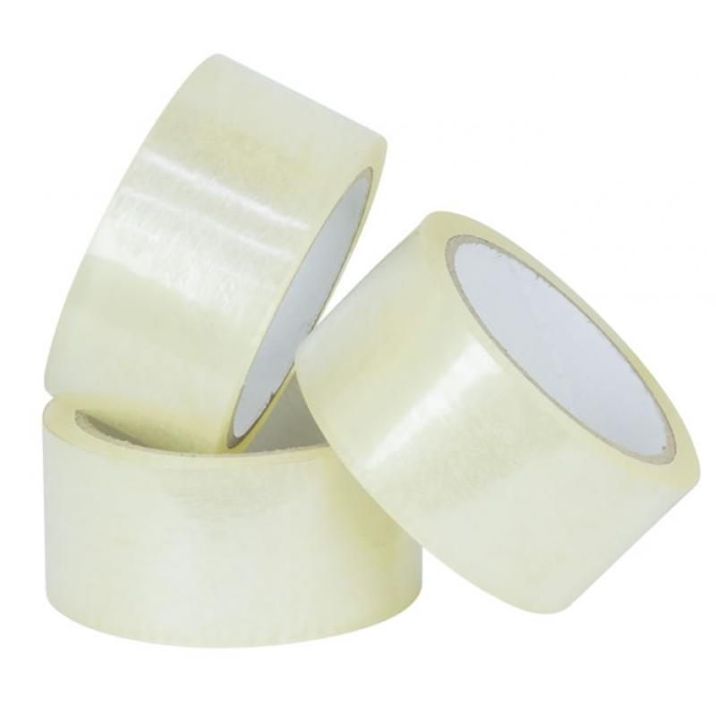 Packaging Tape 48mm x 75m Clear 6pk