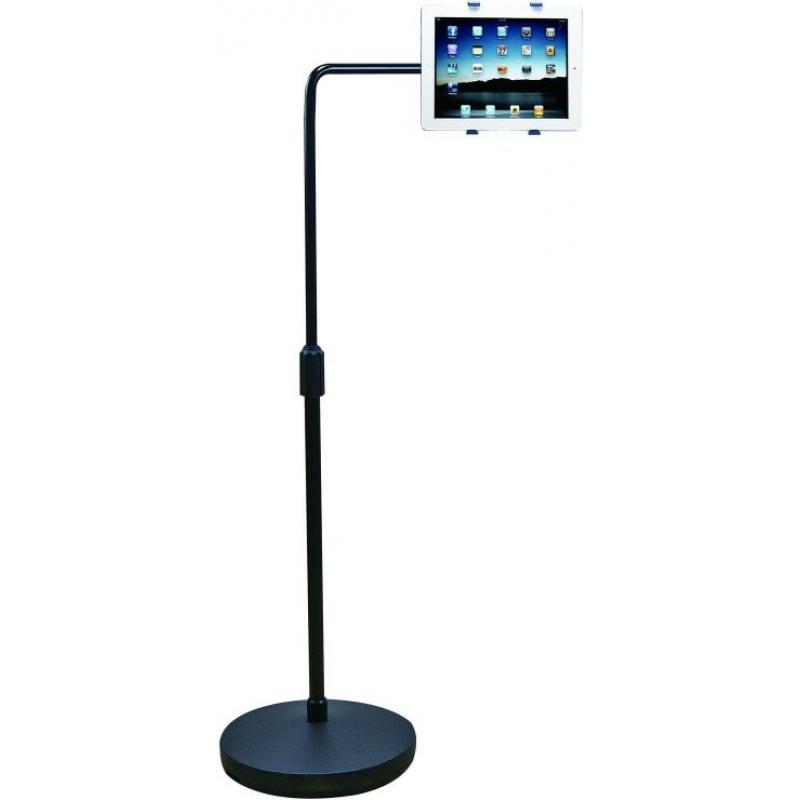 Aidata US-2007W Universal iPad Tablet Floor Stand with Extension Arm