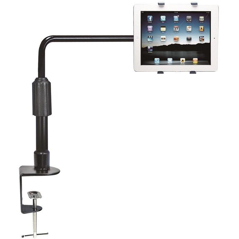 Aidata US-2008C Universal iPad Tablet Desk Mount Stand Clamp With Swivel
