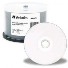 Verbatim DataLifePlus CD-R 80 Min White Thermal 50 Pack Spindle 52x  94949