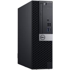 Dell Optiplex 7060 SFF, Core i5-8500 3.0/4.1Ghz, 8GB, 256GB SSD, DVDRW, Win 10 Pro 64, 3 Year  RF37W