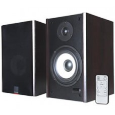 Microlab SOLO1C GAMER's Audio Speaker, RMS power: 60 Watt (30 Watt *2), Wireless remote control, High quality sound and full range spectrum (Brown) SOLO1C